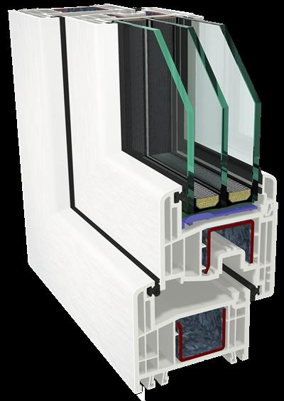Gealan S8000 sistema
