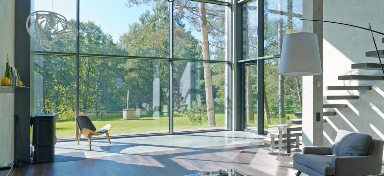 Aliuminio stiklo fasadai